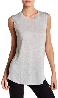 Haute Hippie Scoop Neck Graphic Tank Top