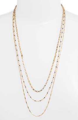 Rebecca Minkoff Layered Mixed Chain Necklace