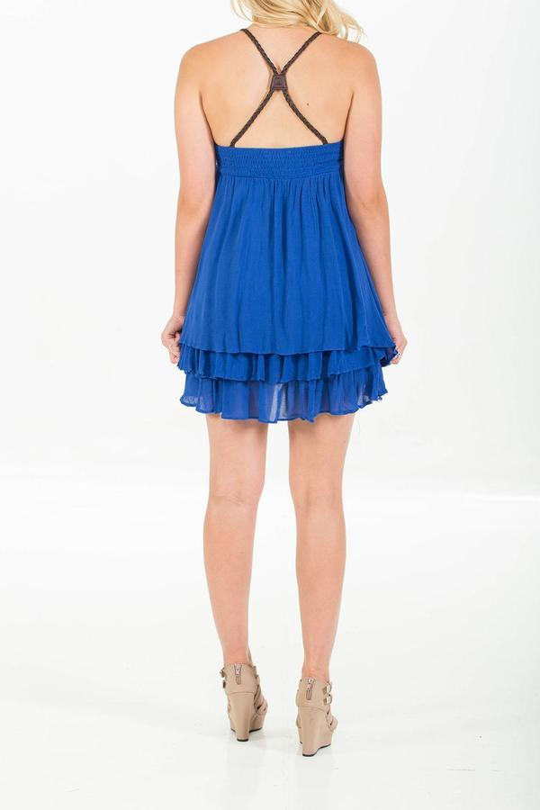 Double Zero Lace Tiered Dress