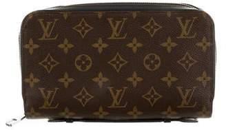 Louis Vuitton Monogram Macassar Zippy XL Wallet