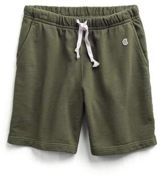 Todd Snyder + Champion The Warm Up Short in Military Olive