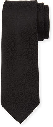 Dolce & Gabbana Paisley Swirl Silk Tie