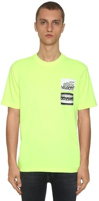 Calvin Klein Established 1978 Graphic Printed Cotton Blend T-shirt