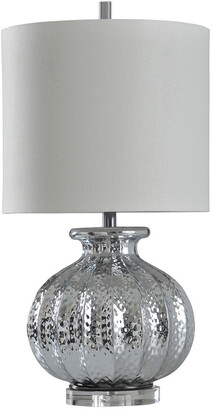 Stylecraft Style Craft 29In Silver Mercury Table Lamp