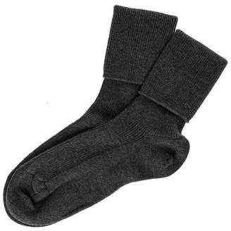 Black Ladies' Cashmere Socks