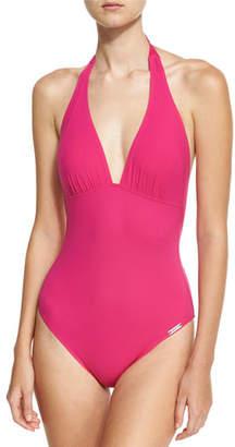Lise Charmel Saga Keniane Low-Back One-Piece Swimsuit, Pink
