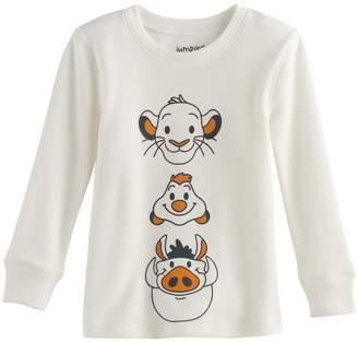 Disneyjumping Beans Disney's The Lion King Toddler Boy Simba, Timon & Pumbaa Thermal Long Sleeve Tee by Jumping Beans