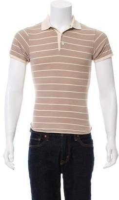 Shipley & Halmos Striped Polo Shirt
