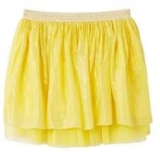 MANGO Lace thread lace skirt