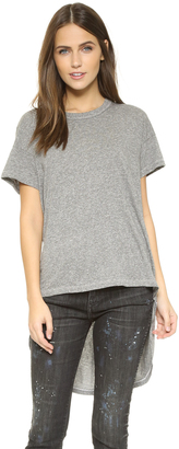 THE GREAT. The Shirttail Tee $145 thestylecure.com