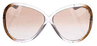 Tom Ford Simone Oversize Sunglasses