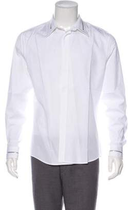 Givenchy Zip-Accented Dress Shirt