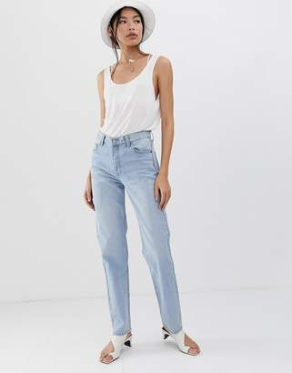 Dr. Denim Piper mid rise straight leg jean
