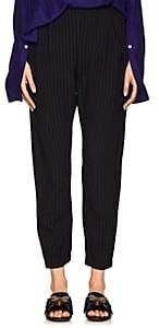 Zero Maria Cornejo Women's Gabi Slub Crop Pants-Black