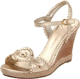 Jack Rogers Women's Clare Rope Wedge Sandal