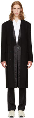 Maison Margiela Black Double-Layer Coat