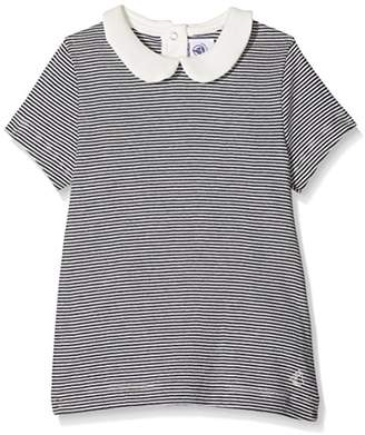 Petit Bateau Girl's Tee Shirt T-Shirt,(Manufacturer Size:4A 4 ANS)