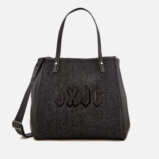 Juicy Couture Women's Arlington Soft Tote Bag - Black Denim