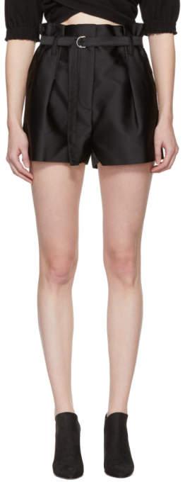 Black Origami Shorts