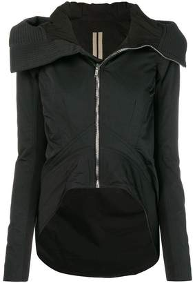 Rick Owens asymmetric fitted jacket