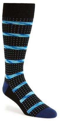 Men's Calibrate Stripe & Dot Socks $12.50 thestylecure.com