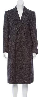 Dolce & Gabbana Double-Breasted Alpaca-Wool Coat w/ Tags