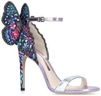 Sophia Webster Leather Chiara Butterfly Sandals 100