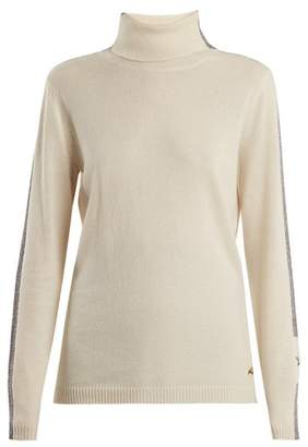Bella Freud Britt Roll Neck Cashmere Blend Sweater - Womens - Ivory
