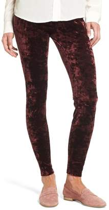 Lysse High Waist Crushed Velvet Leggings