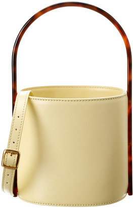 STAUD Madeline Leather Shoulder Bag
