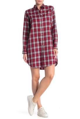 DL1961 Elizabeth & Kenmare Checkered Shirt Dress