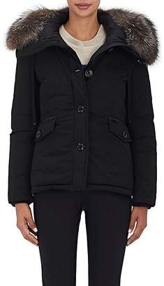 Moncler Women's Malus Fur-Trimmed Down Jacket