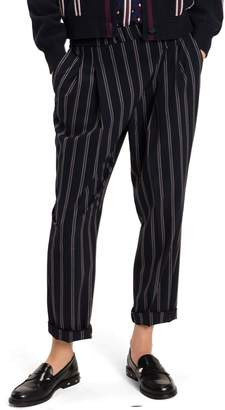 Tommy Hilfiger STRIPED PLEATED JOGGER