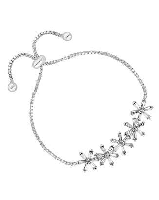 Jon Richard Flower Row Toggle Bracelet