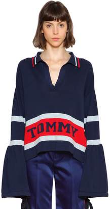 Tommy Hilfiger (トミー ヒルフィガー) - TOMMY HILFIGER COLLECTION コットンニットセーター