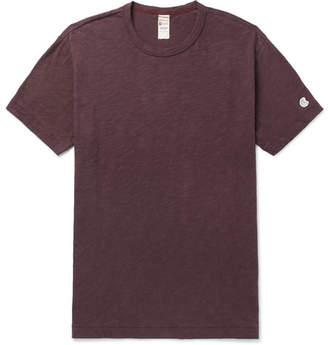 Todd Snyder + Champion Mélange Slub Cotton-Blend Jersey T-Shirt