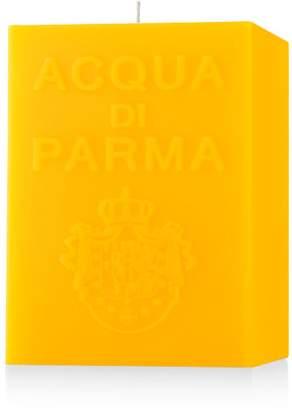 Acqua di Parma Large Yellow Cube Candle - Colonia