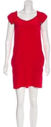 Hanii Y Ruffled Silk Dress