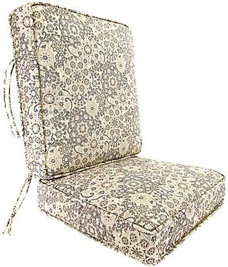 JCPenney Boxed-Style Cushion – Back Attached