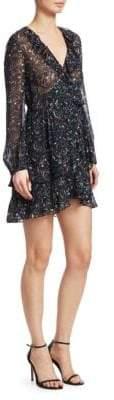 IRO Jasmine Print Wrap Dress