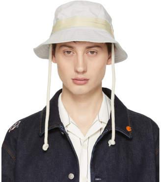 Acne Studios Off-White Bla Konst Sun M Sat Bucket Hat
