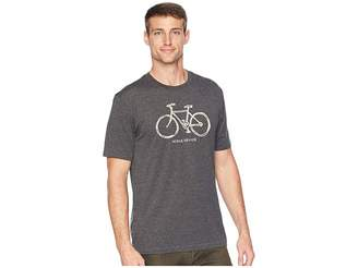 Life is Good Mobile Device Bike Cool T-Shirt