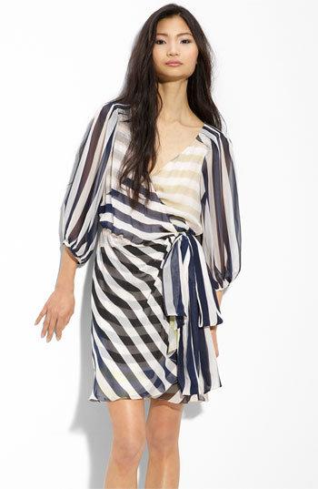 Diane von Furstenberg 'Ignacia' Chiffon Wrap Dress