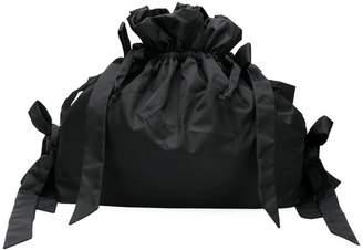 Simone Rocha oversized bow drawstring bag