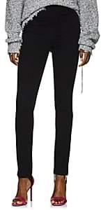 Helmut Lang Women's Stretch-Cotton Stirrup Pants - Black