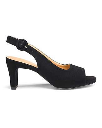 1f10ae969c Jd Williams Square Heel Peep Toe Shoes E Fit