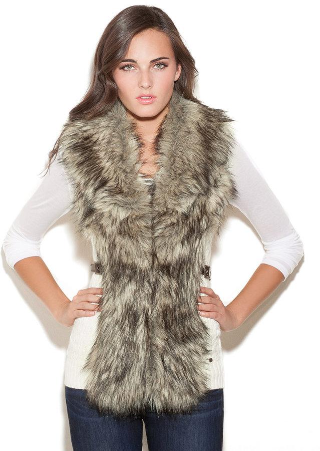 GUESS Vivi Fur Vest