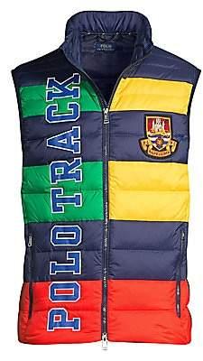 Polo Ralph Lauren Men's Packable Graphic Down Vest