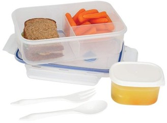 La Cuisine LaCuisineTM LaCuisine 34oz Locking Divided Lunch Container
