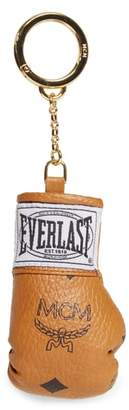 Everlast x MCM Mini Visetos Coated Canvas Glove Bag Charm